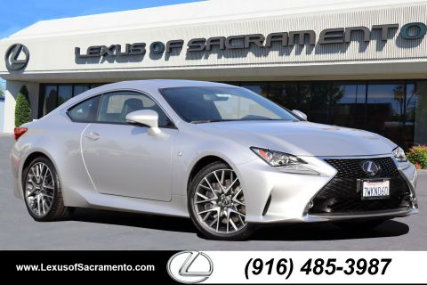 L/Certified 2017 Lexus RC Coupe